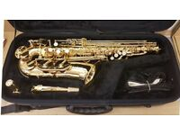 Jupiter 500 alto saxophone- near new -Vgc