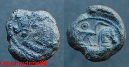 Gauloise ! Les Lémovices, Rare statère de bronze à la grue, DT 3413