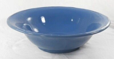 "Simon Pierce Francisco Berry Blue Art Pottery 13 1/2"" Bowl (Disc. 2008) Portugal"