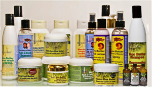 NATURAL SHEA BUTTER BODY LOTION : resolves itchy skin condition
