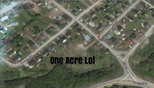 ONE ACRE DREAM HOME LOT IN CORNER BROOK $75,000