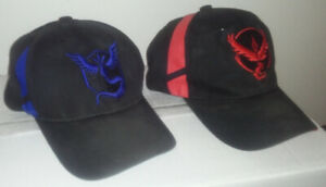 Pokemon Go Embroidered Hats