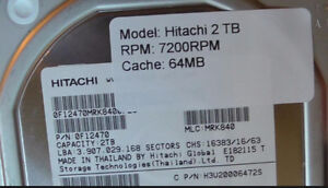 Hitachi 2TB 7,200 RPM Ultrastar Enterprise Class Drives