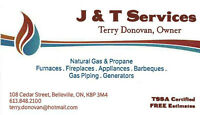 J & T Services - Gas & Propane Installation and Service