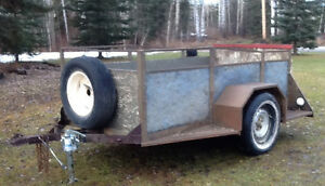 Utility Trailer with Spare