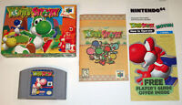 Yoshi's Story N64 Complete in Box excellent condition