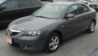 2008 Mazda3 GS Sedan FALL WARRANTY SPECIAL