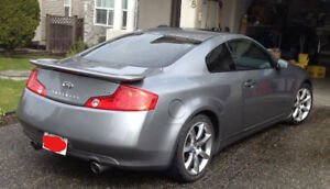 2004 Infiniti G35 Coupe  - Low kms  & lady driven!