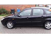 Ford focus automatic 1.6 low mileage 79k long mot in good condition