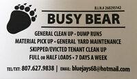 DUMP RUNS / GRASS CUTS / YARD CLEAN / WINDOW CLEANING