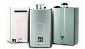 SAVE NOW TANKLESS WATER HEATER SALE