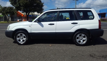 From $28* per week on finance 2003 Subaru Forester Wagon