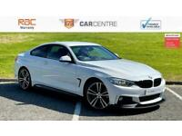 2017 BMW 4 Series 418d M Sport 2dr [Professional Media] COUPE Diesel Manual