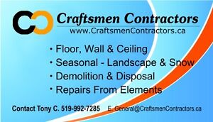 Craftsmen Contractors - $500 All season Grass Cutting Windsor Region Ontario image 1