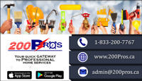 One stop for all cleaning services
