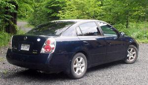 2005 Nissan Altima avec inspection complete par garage NISSAN