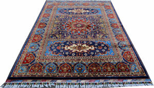 6.6X5 ft High quality Double Knotted rug Soft with Vibrant Color
