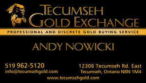 WE BUY GOLD, SILVER, DIAMONDS, COINS, ANTIQUES, WATCHES, ESTATES Windsor Region Ontario image 2