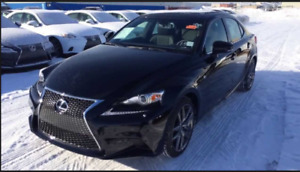 2015 Lexus IS 350 F Sports, top series, lease takeover