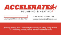 306-280-3663 Journeyman Plumber and Gas/Heat Tech! Free Quotes