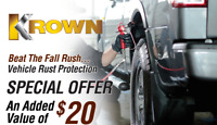 Undercoating - Krown Rust Control Services