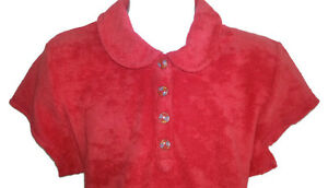 TOMMY HILFIGER Red Terry Cloth Polo Top - Girls Med - NEW Gatineau Ottawa / Gatineau Area image 2