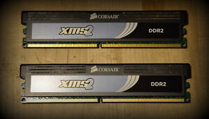 Two different 4Gb DDR2 RAM kits (2x2Gb) PC-6400 (total 8Gb) Gatineau Ottawa / Gatineau Area image 3