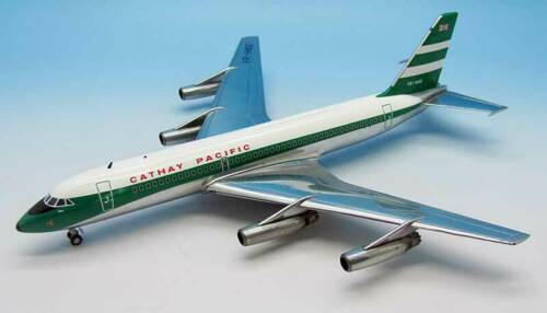 JFox JFOX880 Cathay Pacific Convair CV-880M VR-HGG Diecast 1/200 Model Airplane