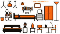 Call 780-680-2141 for Any Furniture Assembly & Delivery Service
