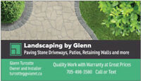 Driveways, Retaining Walls, Patios