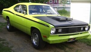 looking to trade a plymouth duster for a older chev truck