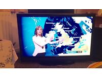 """42"""" hitachi led tv freeview hdmi full hd can deliver."""