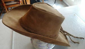 real suede fedora western hat