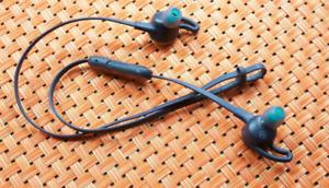 Fitbit Flyer Wireless Headphones, Nightfall Blue