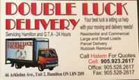 Double Luck Delivery & Cleaning