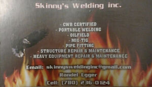 Rig welder for hire / ready for work