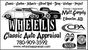 Classic - Custom - Muscle Car - Hot Rod - Race - APPRAISALS Edmonton Edmonton Area image 5
