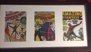 Framed comic covers and super heroes  Kingston Kingston Area image 1
