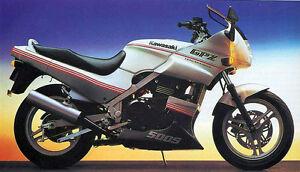 1989 Kawasaki EX500A (GPZ500) Ninja Parts