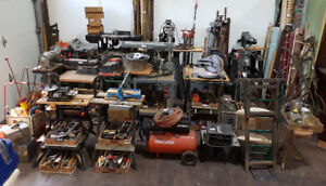 WOODSHOP TOOLS