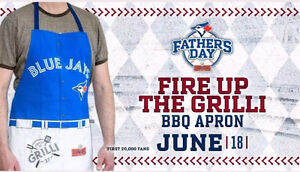 Toronto Blue Jays Fire up the Grilli Apron