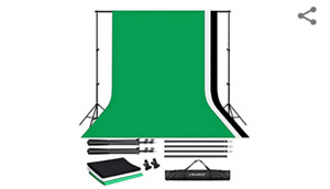 BACK DROP STAND WITH BACKDROPS