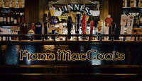 Fionn MacCool's Kitchener is seeking a FULL TIME BARTENDER