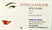 Stay glamour with permanent makeup and esthetic services