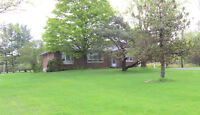 ALL BRICK BUNGALOW ON HALF ACRE NEAR KINGSTON, $265 000
