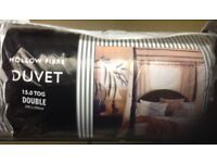 Hollow Fibre Duvets - King, Double & Single - 15Tog - Brand New - Made in UK