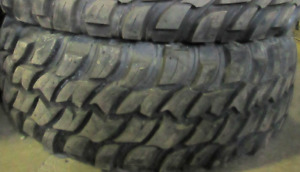 99% TREAD LEFT ON 2 TIRES 35X12.50R17 M/T