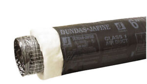 Dundas Jafine Flexible Insulated Duct Ventilation 4 inch x 15'