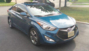 2014 Hyundai Elantra GLS Coupe 6-Speed with navi - FULLY Loaded
