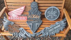Ktm triumph Honda harley davidson yamaha suzuki hanging wall plaques